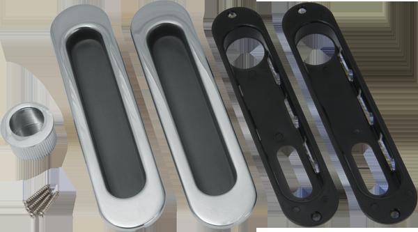Ручки для раздвижных дверей SH010-CP-8